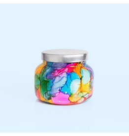 Capri Blue Rainbow Watercolor Jar Candle