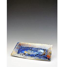 Stellar Art Pottery Sushi Tray