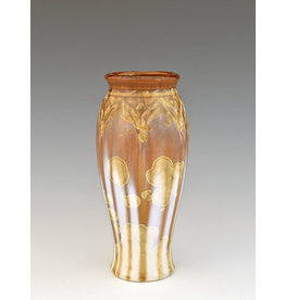 Stellar Art Pottery Medium Carved Classic Vase