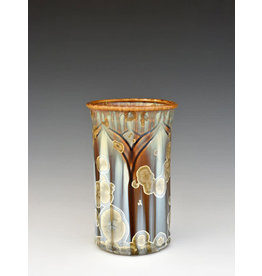Stellar Art Pottery Carved Utensil Holder