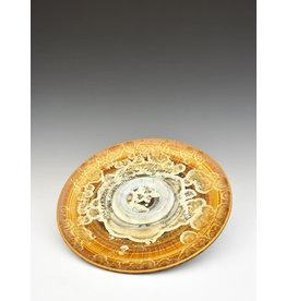 Stellar Art Pottery Bread & Oil Plate