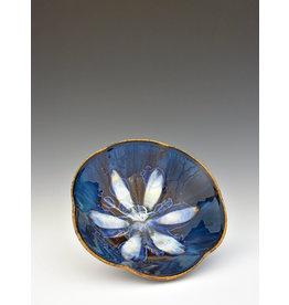 Stellar Art Pottery Pansy Bowl