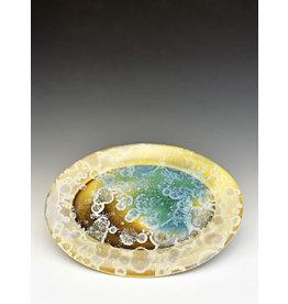 Stellar Art Pottery Oval Platter