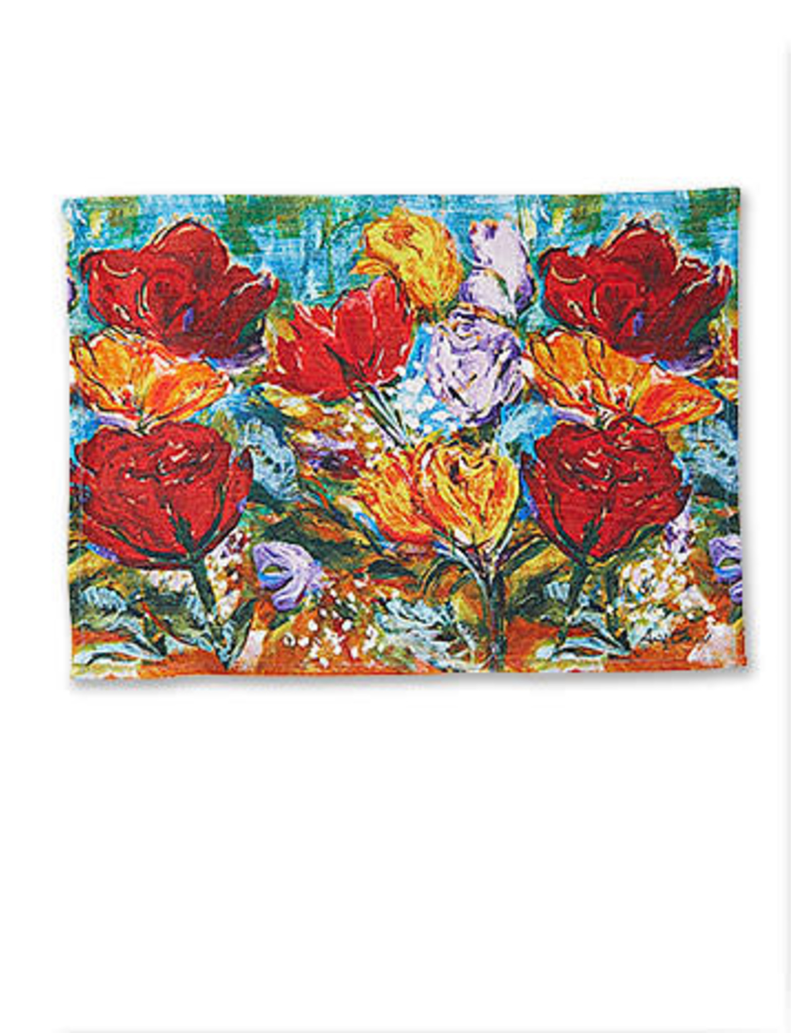 April Cornell April Cornell Always Roses Placemat Multi
