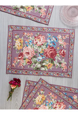 April Cornell April Cornell Cottage Rose Placemat Amethyst