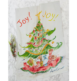 April Cornell Joy Joy Tea Towel