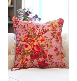 April Cornell English Garden Velvet Pillow