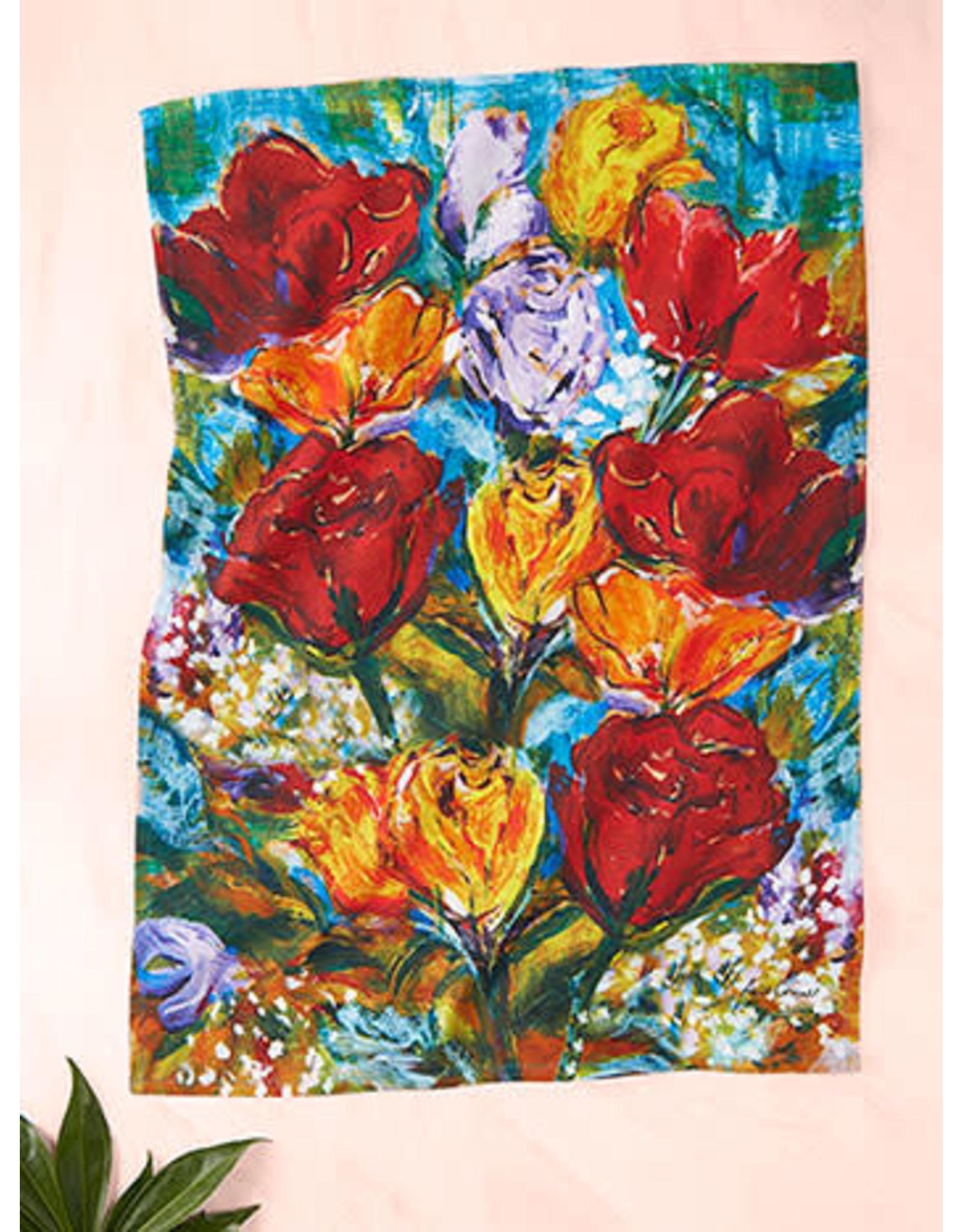April Cornell April Cornell Always Roses TT Multi 19x27