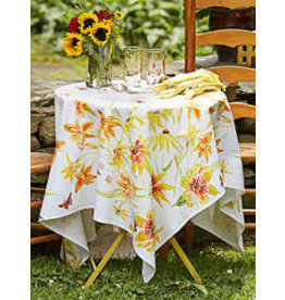 April Cornell Black Eyed Susan 60x90 Tablecloth