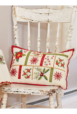 April Cornell April Cornell Christmas Sampler Embroidered Cushion