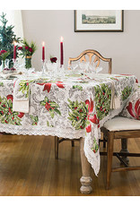 April Cornell April Cornell Deck the Holly Tablecloth 60x90