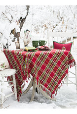 April Cornell April Cornell Fireside Tartan Plaid Red 60x90