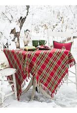 April Cornell April Cornell Fireside Tartan Plaid Red 60x90