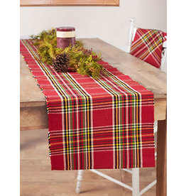 April Cornell Fireside Tartan Plaid 13x72 Runner