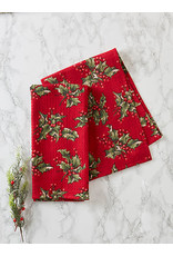 April Cornell April Cornell Holly Red Tea Towel