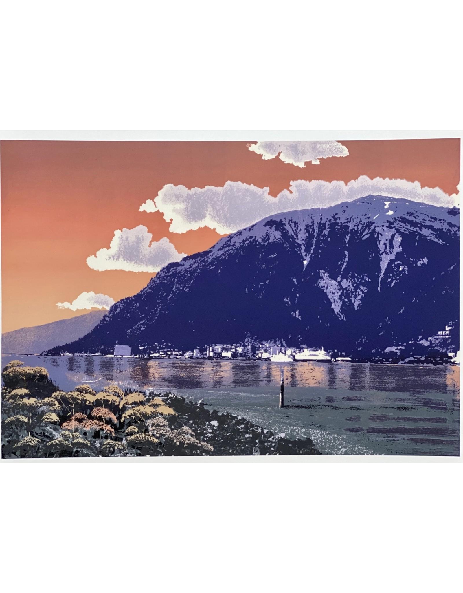 """Alice Tersteeg Alice Tersteeg """"Mt. Juneau"""" print"""
