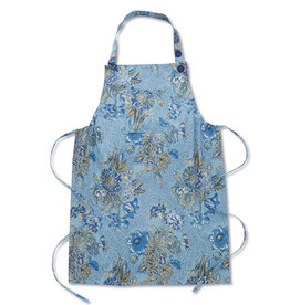 April Cornell Jaipur Garden Blue Apron