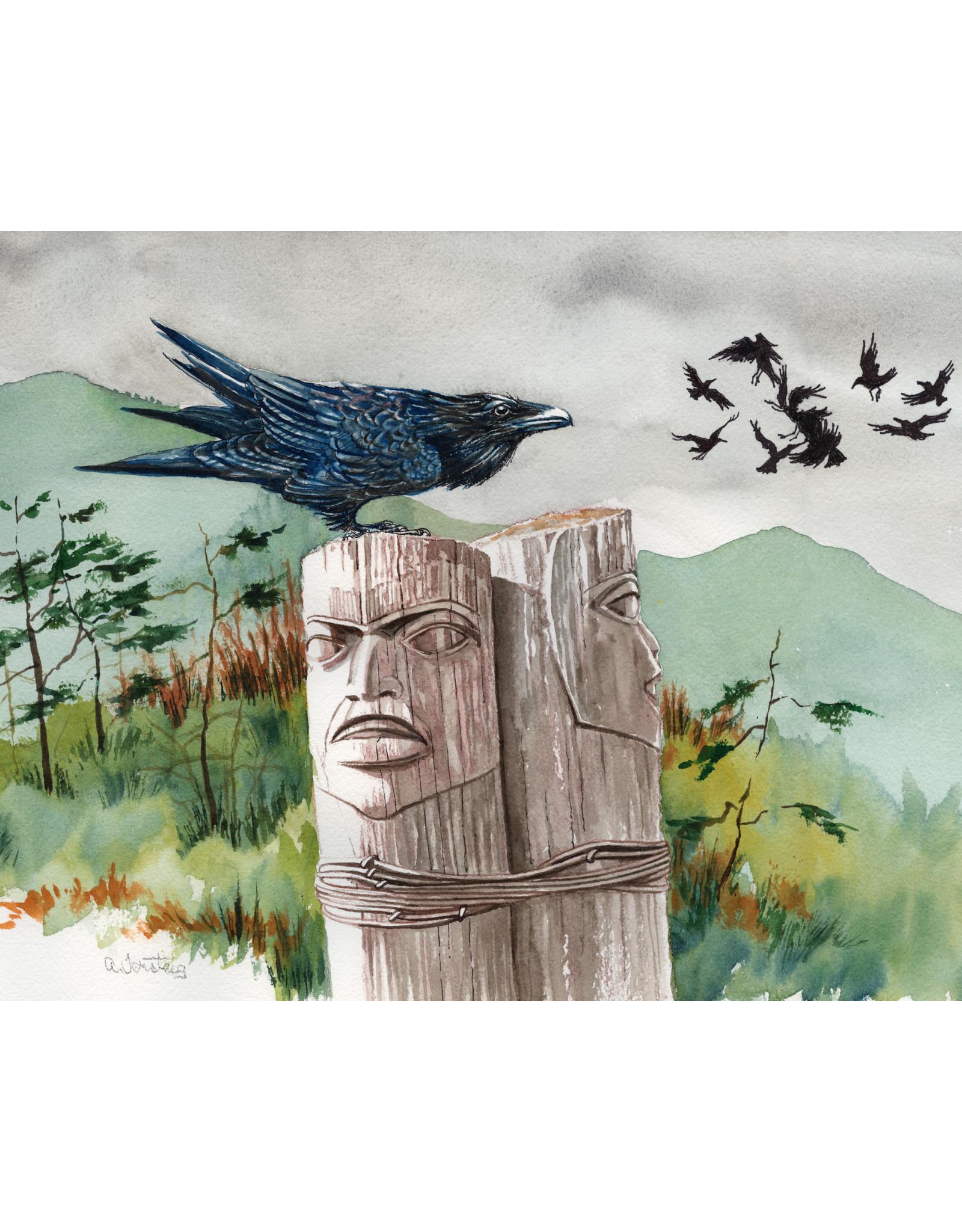 Alice Tersteeg Raven Totem | Alice Tersteeg