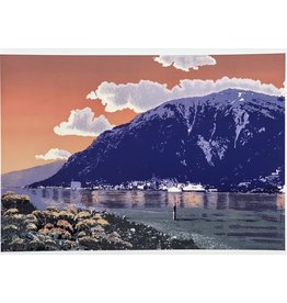 "Alice Tersteeg ""Mt. Juneau"" Alice Tersteeg art card"