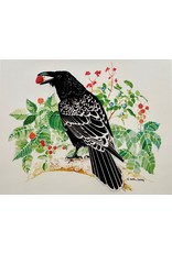 Alice Tersteeg Raven Loves Berries (art card) |  Alice Tersteeg