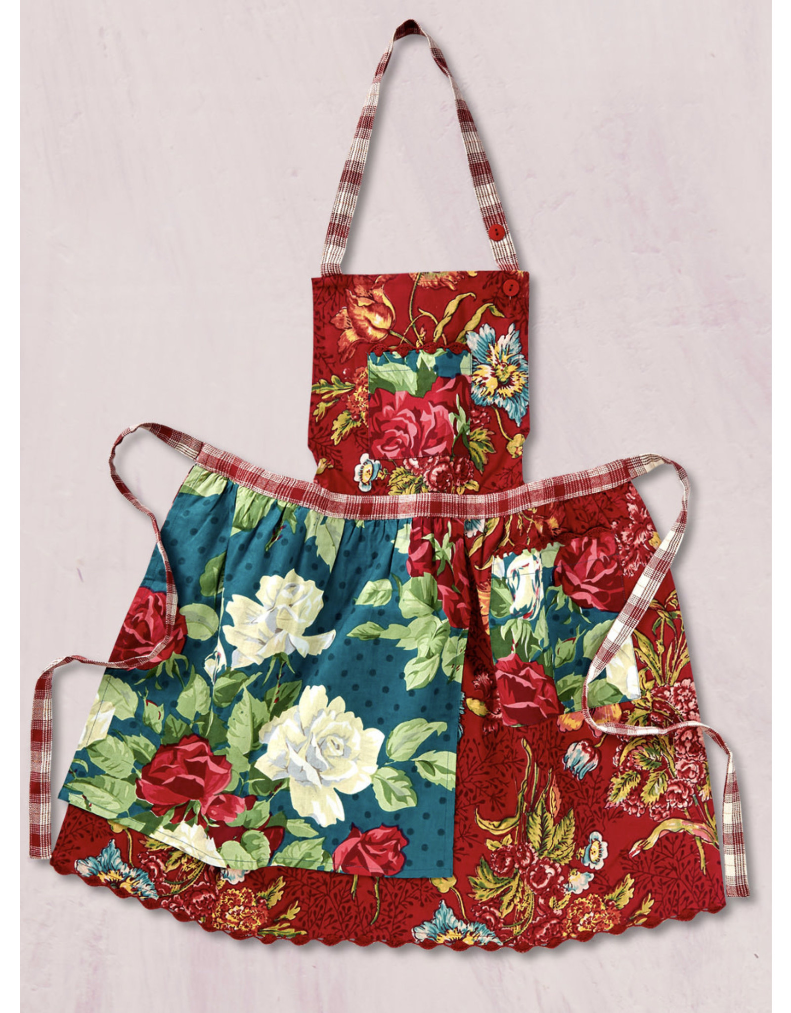 April Cornell April Cornell Jewel Patchwork Kids Apron