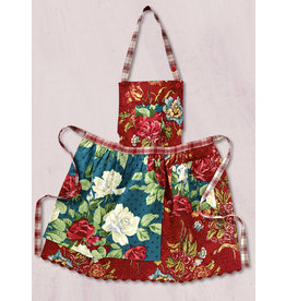 April Cornell Jewel Patchwork Kids Apron