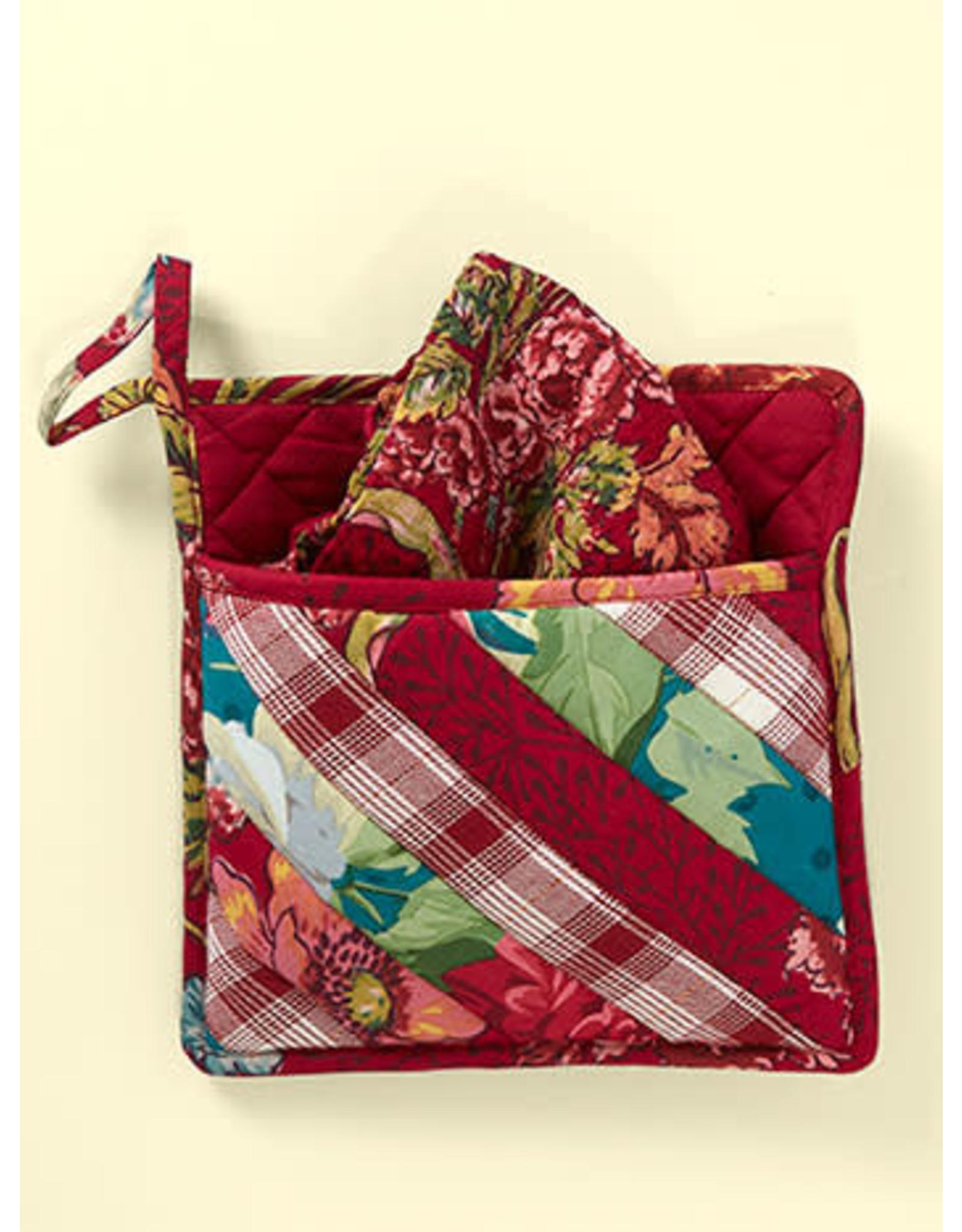 April Cornell April Cornell Jewel Patchwork Pocket Potholder