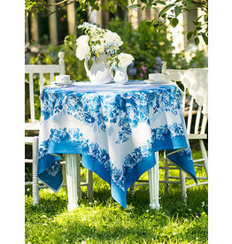 April Cornell Marion Blue 60x90 Tablecloth