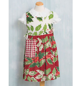 April Cornell Merry Maker's Patchwork Kids Apron