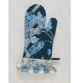 April Cornell Midnight Patchwork Oven Mitt