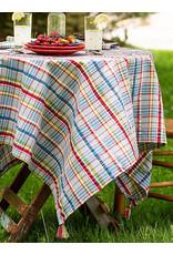 April Cornell April Cornell Picnic Seersucker Tablecloth 54x54