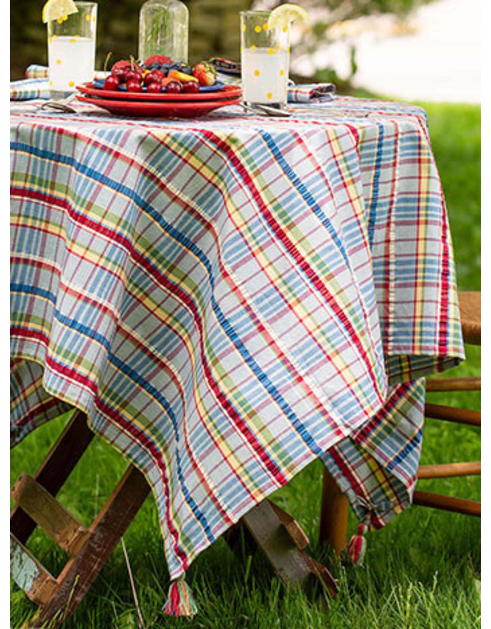 April Cornell April Cornell Picnic Seersucker Tablecloth 60x90