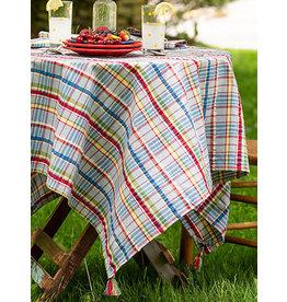 April Cornell Picnic Seersucker 60x90 Tablecloth