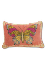 April Cornell April Cornell Rose Mariposa Velvet Cushion
