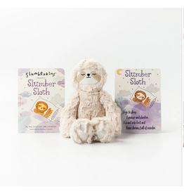 Slumberkins Slumber Sloth Snuggler Kin Relaxation