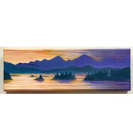 "Alice Tersteeg Alice Tersteeg ""Auke Bay Sunset"" Original"