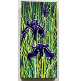 Alice Tersteeg Black Iris (original)