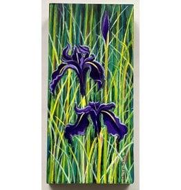 Alice Tersteeg Black Iris (original)