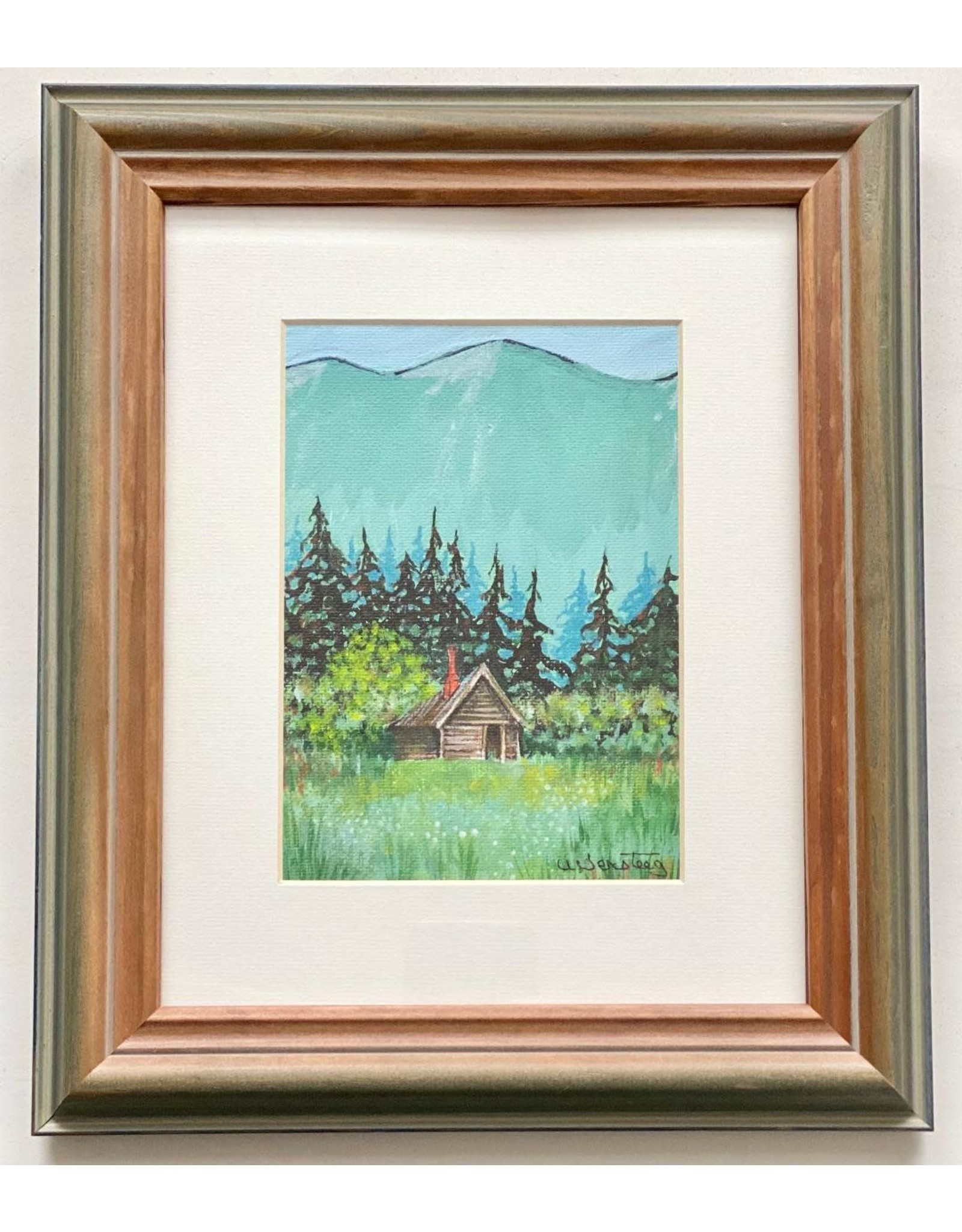 "Alice Tersteeg Alice Tersteeg ""Cabin in Wildmeadow"" Original"