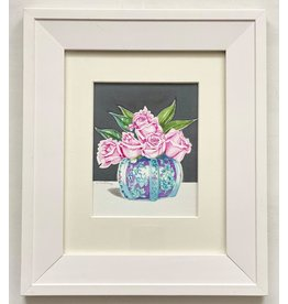 Alice Tersteeg Five Roses (framed original)