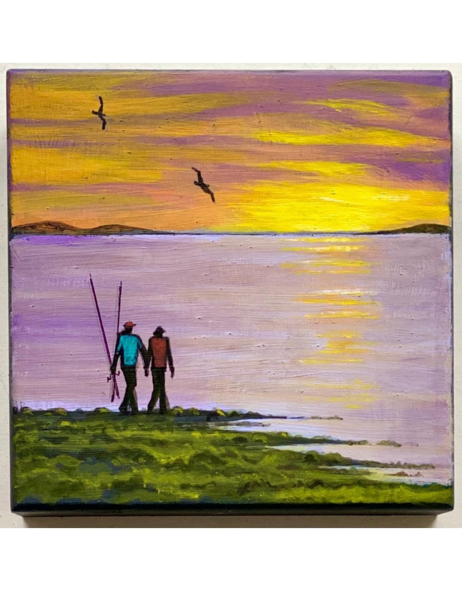 Alice Tersteeg Going Fishing (original) | Alice Tersteeg