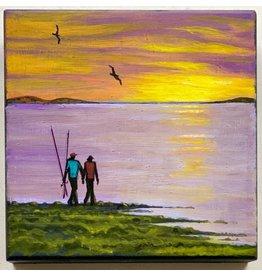 Alice Tersteeg Going Fishing (original)