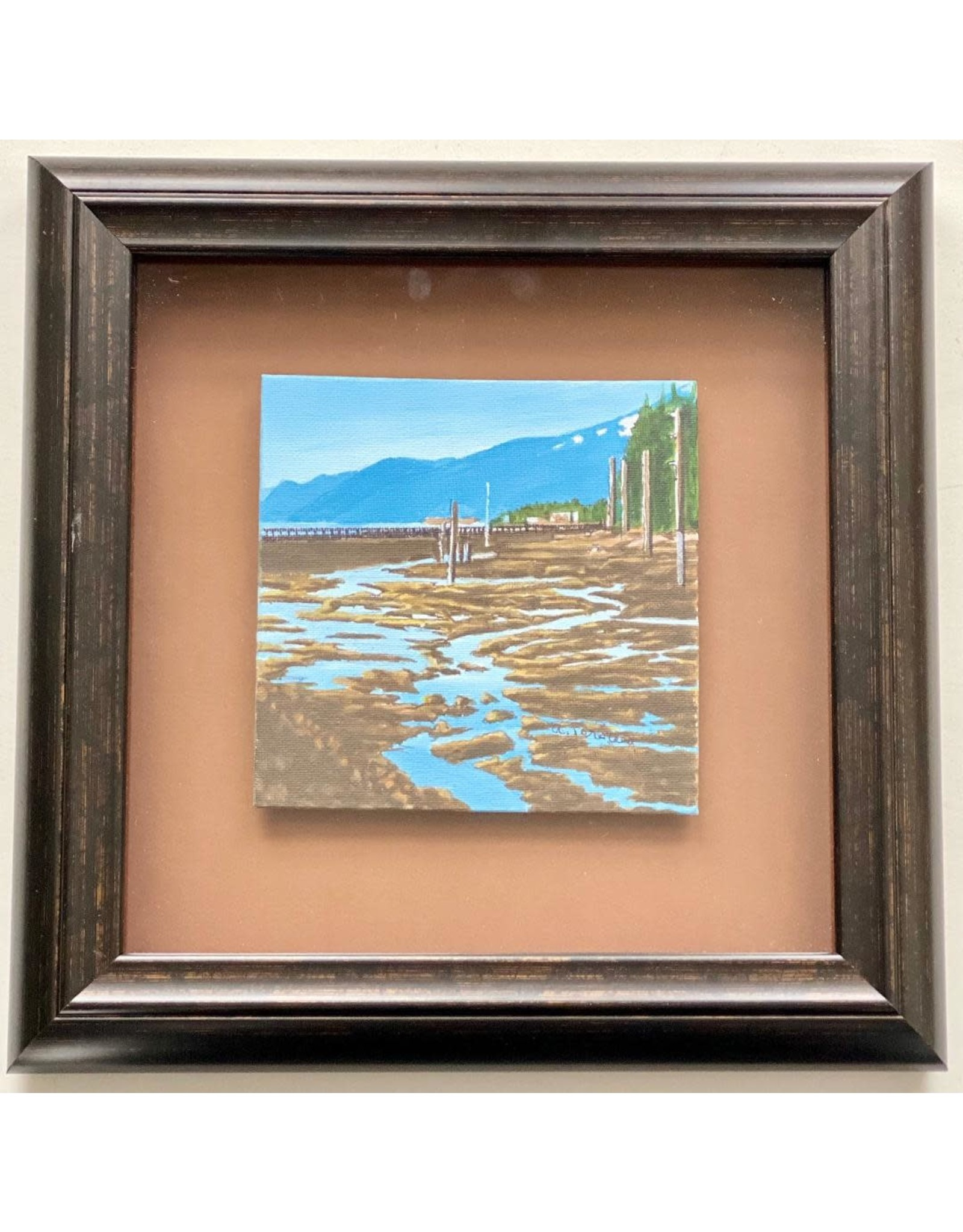 Alice Tersteeg Norway Point II (framed original) | Alice Tersteeg