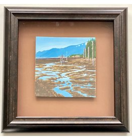 "Alice Tersteeg Alice Tersteeg ""Norway Point II"" Original framed"