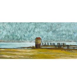 "Alice Tersteeg Alice Tersteeg ""Saltwater Pumphouse"" Original"