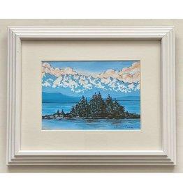 """Alice Tersteeg Alice Tersteeg """"St. Theresa"""" Original framed"""