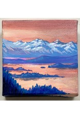 Alice Tersteeg Sunset from Mt. Roberts (original) | Alice Tersteeg