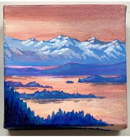 "Alice Tersteeg Alice Tersteeg ""Sunset from Mt. Roberts"" Original"