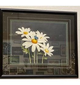 Alice Tersteeg Daisies (framed original)