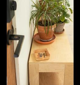 "Graf Lantz Graf Lantz Kobon Square 4"" Natural Leather Coaster Holder"